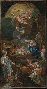 Zacarias Gonzalez Velazquez Adoration of the Shepherds oil painting